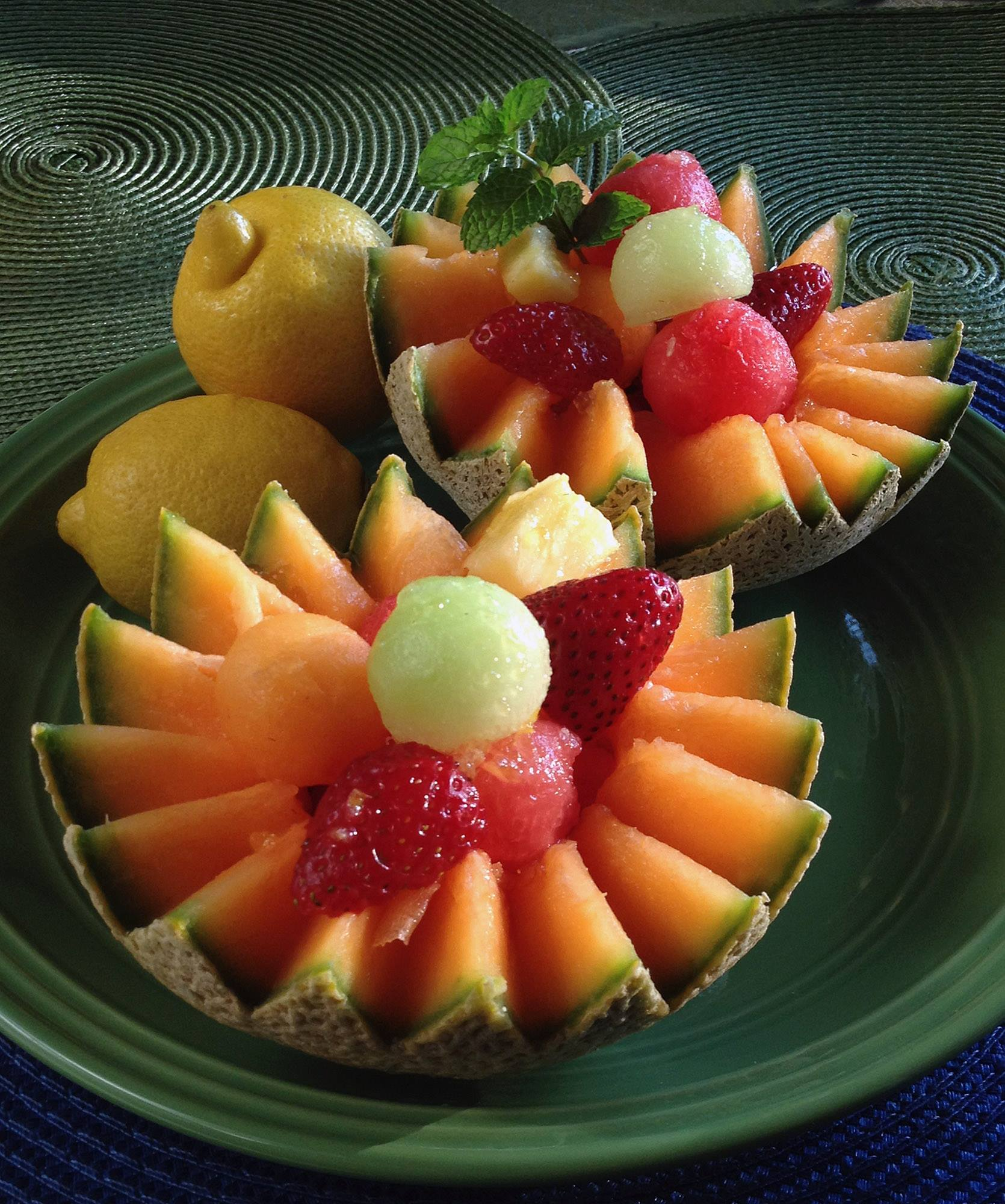 SUMMERTIME MELON SALAD